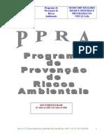 Modelo de PPRA fhgwe