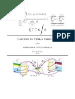 Cálculo en Varias Variables - Mario Errol Chavez Gordillo