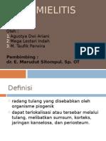 139013436 Ppt Osteomielitis