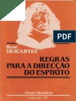 René Descartes - Regras Para a Direção Do Espirito