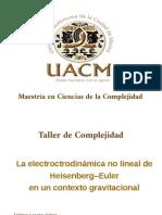Agujero Negro de Heisenberg Euler