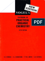 Vogel Practical Organic Chemistry 5th Edition(New)!!!!!!!!