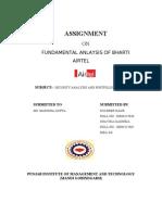 fundamental analysis of bharti airtel
