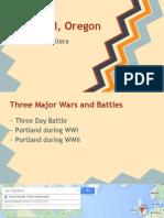 portland oregon - war