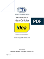 Ratio Analysis _Idea Cellular
