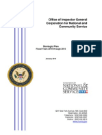 Office of Inspector General CNCS Strategic Plan 2010-2015  OIGStratPlan_10-15