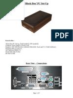 Black Box PC Setup Guide R1