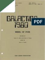 The Wheel of Fire Script