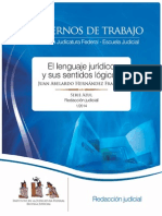 LENGUAJE JURIDICO Y SU SENTIDO LOGICO - MEXICO.pdf