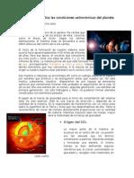 Bloque Ll Explica Las Condiciones Astronomicas Del Planeta