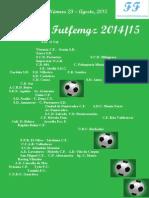 023. Revista FF. Agosto 2015