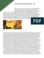 Plans Incidences-libre de Clash of Clans elixirs - Un Contexte