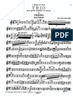 Poulenc - Trio for Oboe Bassoon and Piano