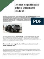 <h1>Descubre lo mas significativo sobre novedoso   automovil  Astra diesel 2015</h1>