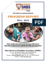 Snbs Ngo Report 2014-2015