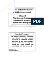 Theoretical Framework Hypothesis Development 2013