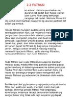 Bab 2-2 Filtrasi
