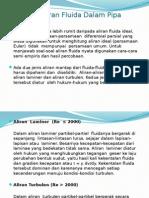 Bab 4-3 Teori Aliran Fluida-Aliran Fluida Dlm Pipa.pptx