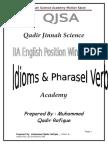 BA English , Qadir Idioms Notes