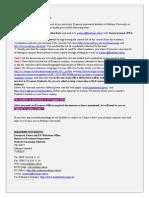 Application Procedures for Erasmus 2014-2015