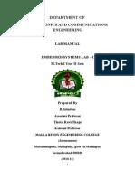 ES lab manual 1