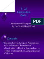 L 28 Disinfection