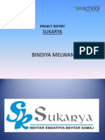 Project report on social cause