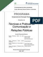 T com. relações publicas