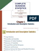 Chap 001 COMPLETE BUSINESS STATISTICS