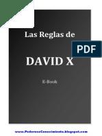Las Reglas (David X)