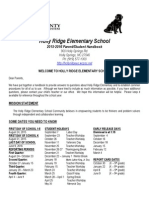 parent student handbook 2015