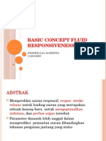 Basic Concept Fluid Responsiveness
