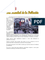 11 de JULIO - Día Mundial de La Población.
