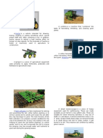Farm Tools and Equipments