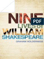 Nine Lives of William Shakespeare—Graham Holderness