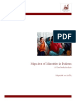 Migration of Minorities in Pakistan