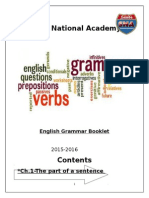 Grammar Booklet