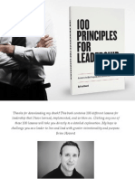 100 Principles for Leadership