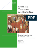 Ethics and Trusteeship for Health Care