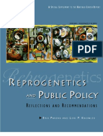 Reprogenetics and Public Policy