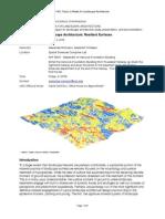 Topics in Media for Landscape Architecture