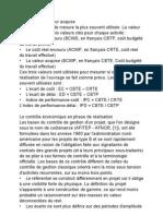 Analyse de La Valeur Acquise
