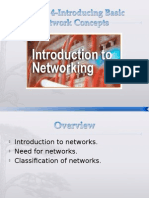 Lesson 5-Introducing Basic Network Concepts