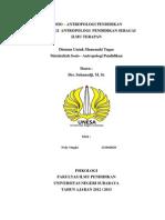 109461667 Sosiologi Antropologi Pendidikan Sebagai Ilmu Terapan
