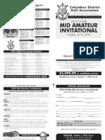 CDGA Mid-Amateur Application