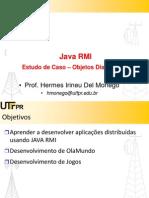 Java RMI - Estudo de Caso - Objetos Distribuídos