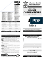 2010 CDGA Junior Application