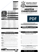 2010 CDGA Amateur Application