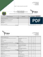 Matriz Engenharia Civil UNILA