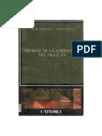 Fokkema D W Y Ibsch Elrud - Teorias de La Literatura Del Siglo XX